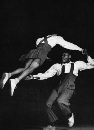 Life Throw on Lindy Hop Dance Steps